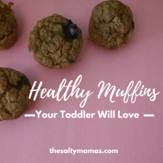 Healthy Toddler Muffins Made With Real Fruit, Veggies, and Whole Grains. From thesaltymamas.com