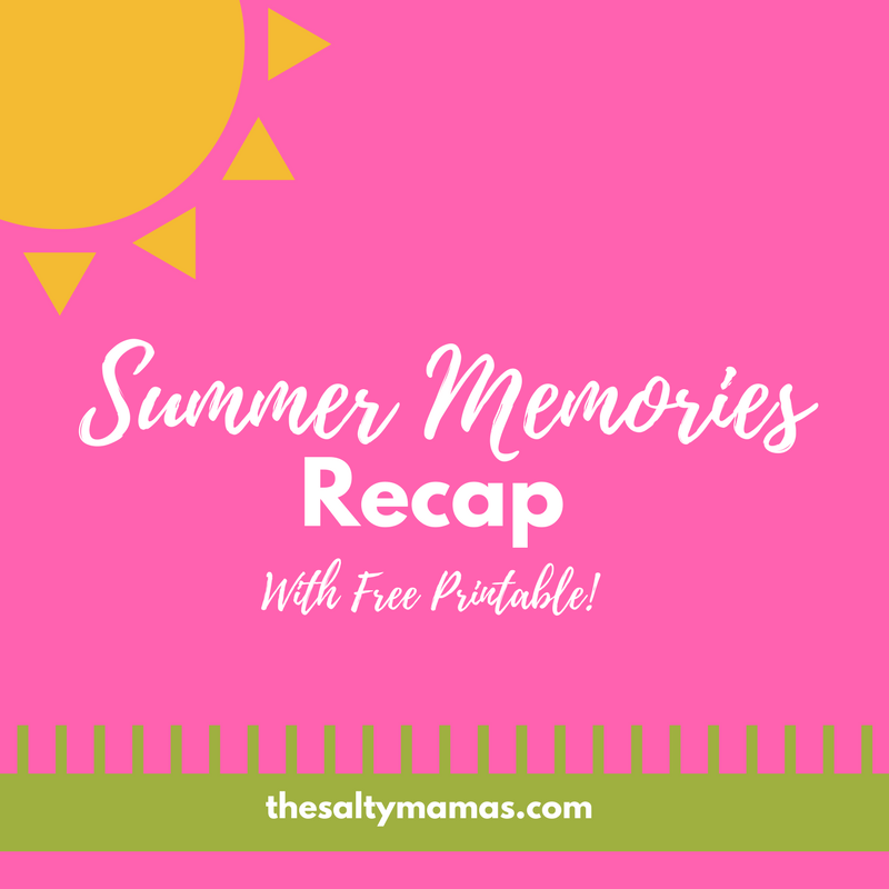 Reflect on your summer memories with your family with this sweet printable.