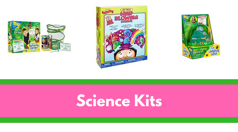 Science Kits can make incredible gifts for the child who already has EVERYTHING.